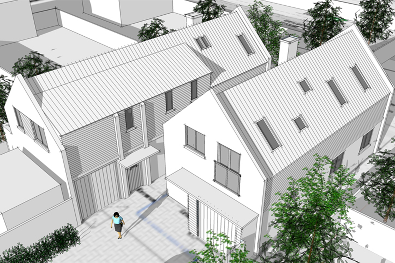 Houses Rendering
